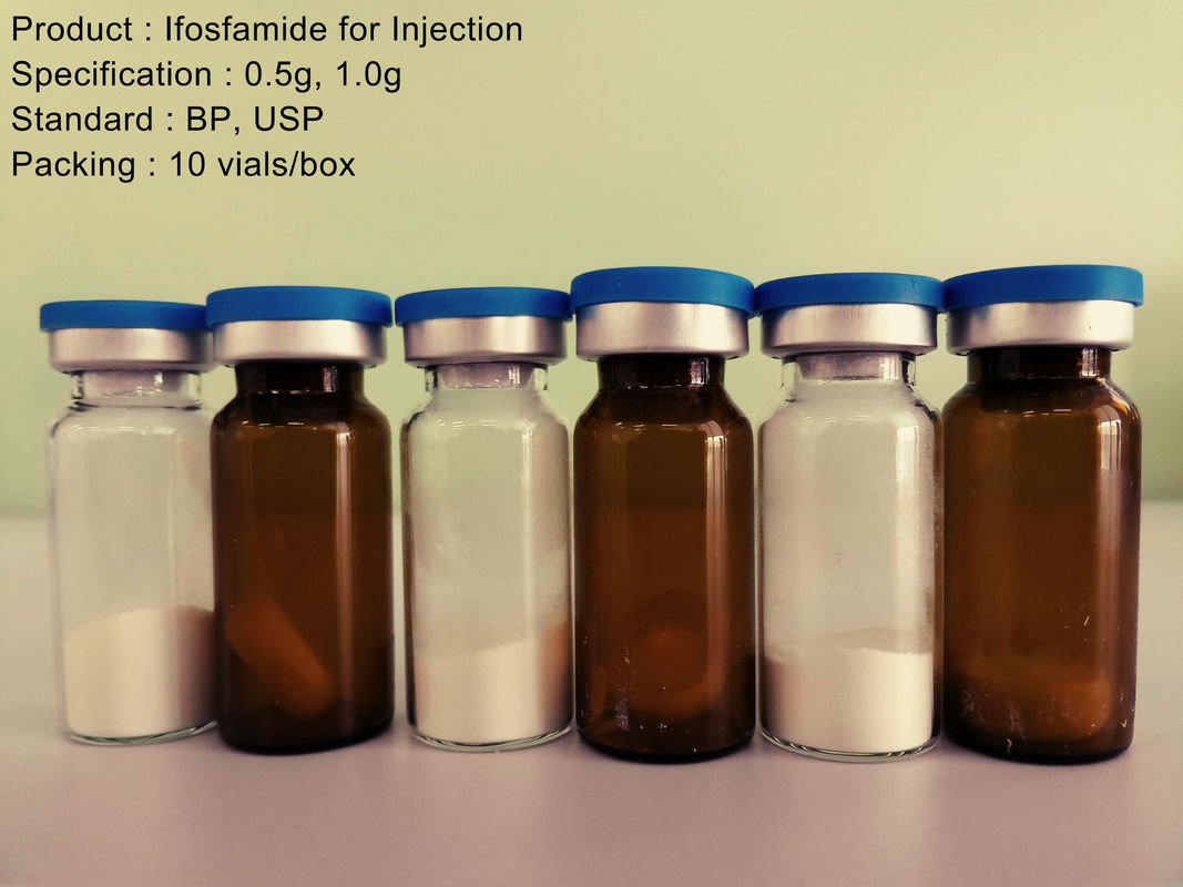 0.5g / 1.0g Dry Powder Injection Ifosfamide , Anti Cancer Medication
