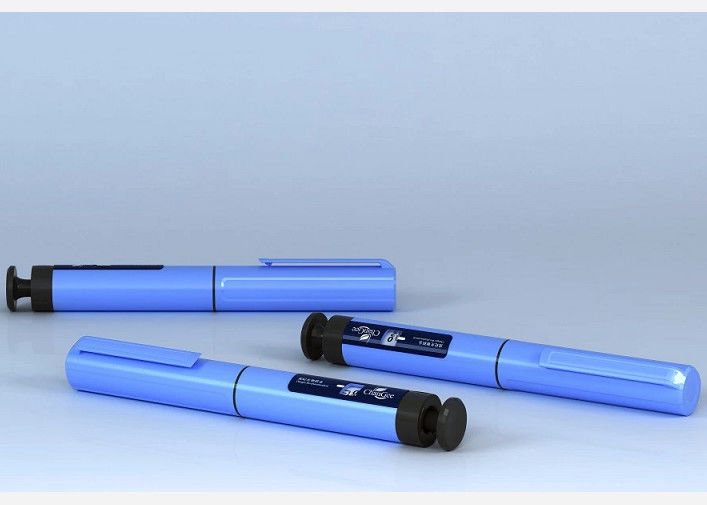 Disposable Plastic Injection&Puncture Instrument Diabetes Injection Pen 1IU - 60IU Dose