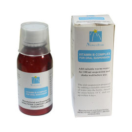 Cina Liquid Vitamin B Complex Dosis Oral Suspension Medicine 100ml, Sirup Oral pabrik