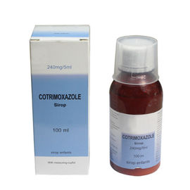 Cina Sirup Cotrimoxazole 240mg / 5ml, 100ml / bottle Oral Medications pabrik