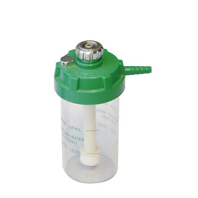 350ml Botol Polycarbonate Disposable humidifier dengan DISS 1240 Inlet Connection